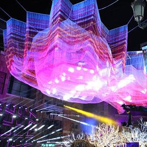 La gigantesca escultura flotante que llega a Madrid