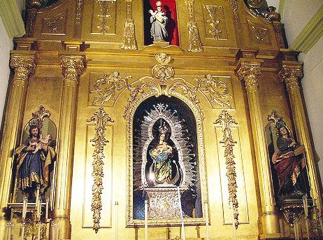 Capilla de la Virgen de los Remedios.