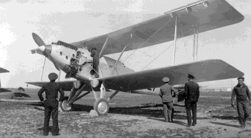 """1935. Vickers """"Vildebest"""" 27 aeronaves"""
