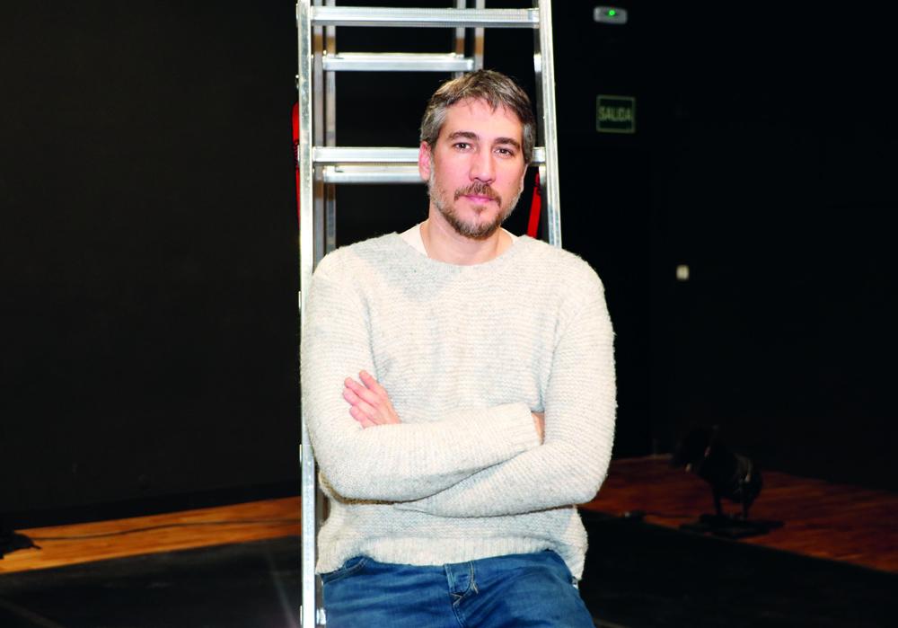 """Alberto Ammann2 - Alberto Ammann: """"El teatro me atrapa más que ninguna otra cosa"""""""