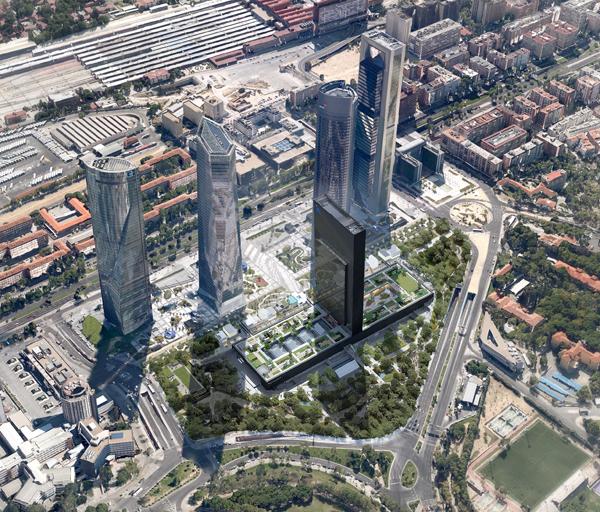 CALEIDO Area lejana - Comienza a construirse la quinta torre