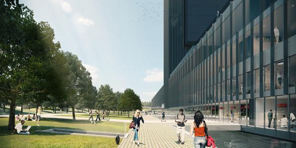 CALEIDO Vista urbanismo - Comienza a construirse la quinta torre