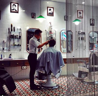 Barbershop de Luis&Tachi en el C.C. ABC Serrano