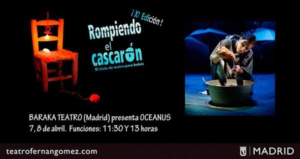 dentro BARAKA OCEANUS - Ciclo de teatro para bebés en el Fernán Gómez