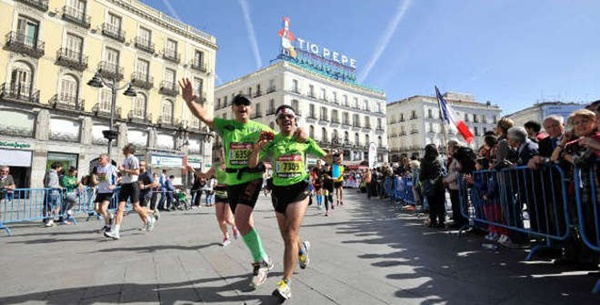 dentro maraton - Maratón Popular de Madrid, la gran fiesta del deporte