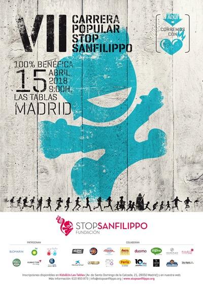 dentro - Running solidario para apoyar la investigación del síndrome de Sanfilippo
