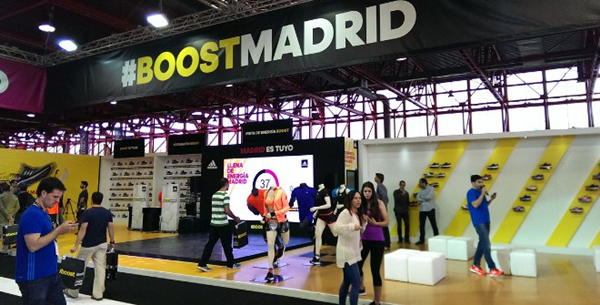 expodepor dentro - Maratón Popular de Madrid, la gran fiesta del deporte