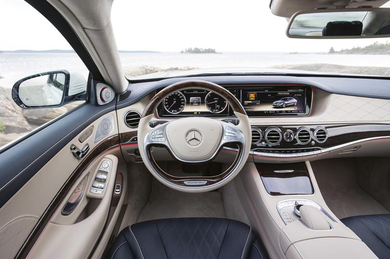 """mercedes2 - Mercedes S 350 d """"Un primera clase sensacional"""""""