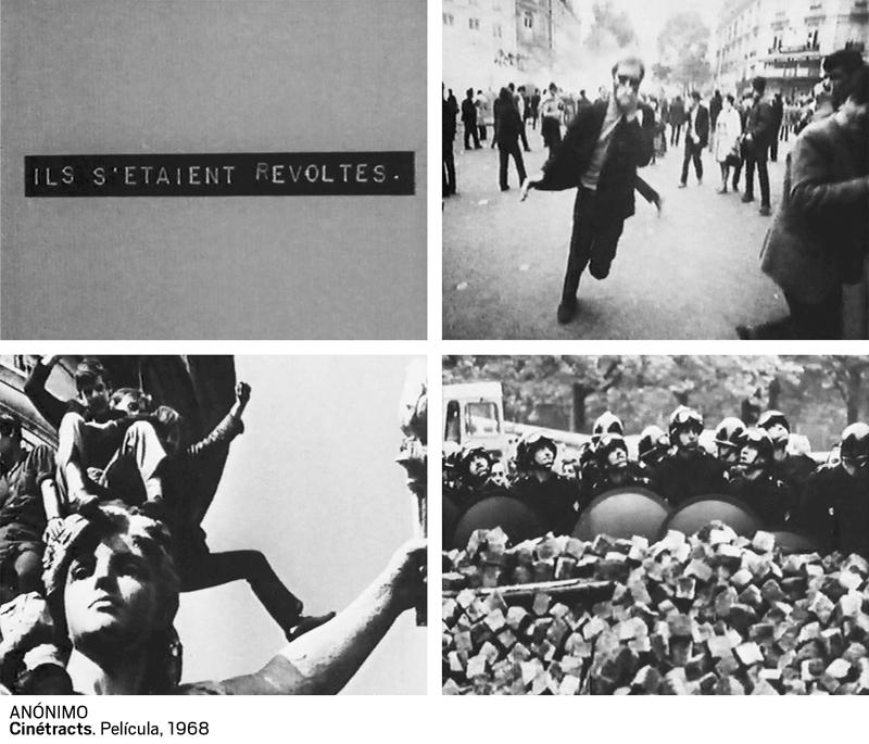 02 anonimo. cinetracts. pelicula 1968 - Cine clandestino del 68 celebra el 50 aniversario de las protestas