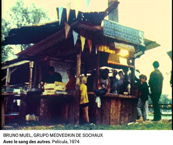 02 bruno muel grupo medvedkin de sochaux. avec le sang des autres. pelicula 1974 0 - Cine clandestino del 68 celebra el 50 aniversario de las protestas