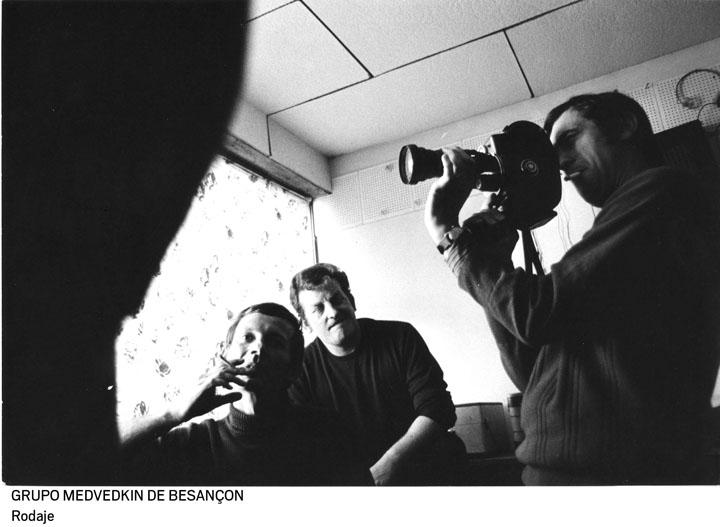 02 grupo medvedkin de besancon. rodaje 0 - Cine clandestino del 68 celebra el 50 aniversario de las protestas