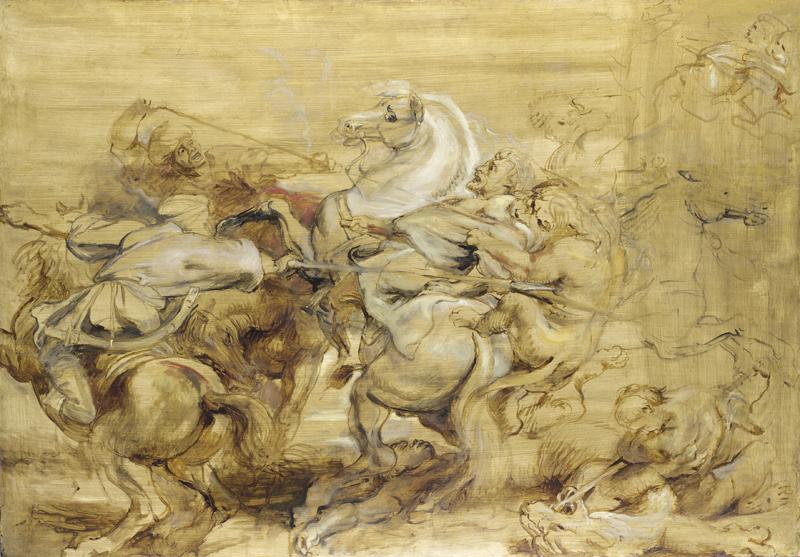 """""""Daniel en el foso de los leones"""" es un cuadro del pintor Peter Paul Rubens, realizado en 1615."""
