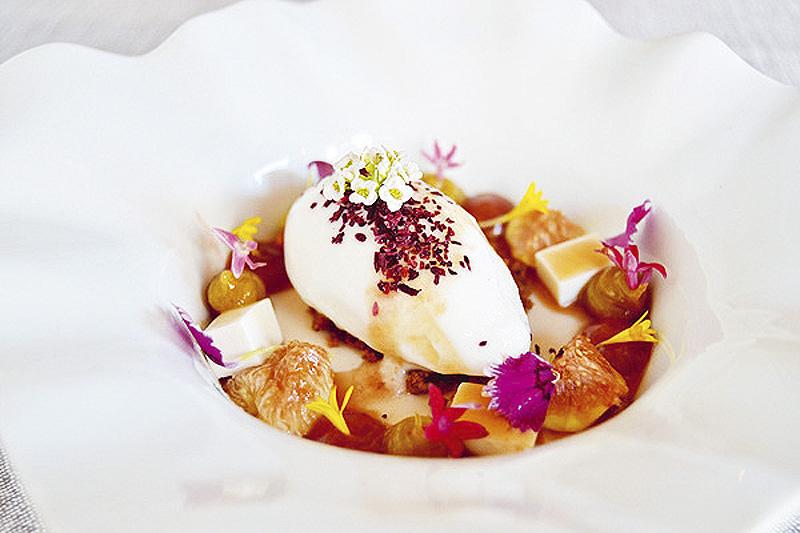 Higos miel de pino y queso fresco Desencaja - Restaurantes y terrazas de Madrid para este verano (1ª entrega)