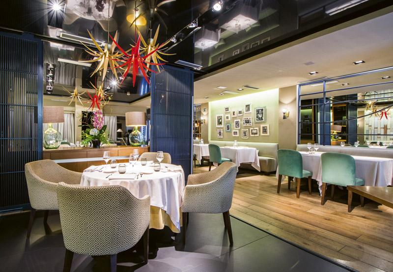 Mesa y sala Sandó - Restaurantes y terrazas de Madrid para este verano (1ª entrega)
