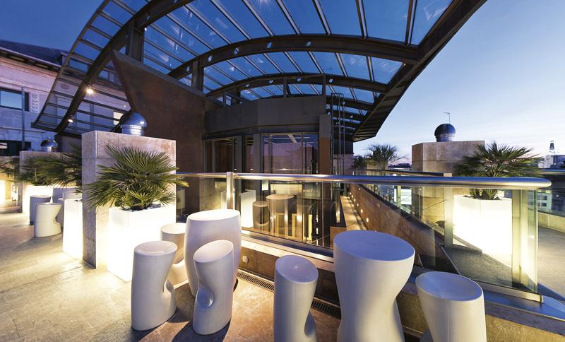 RyA. DHC.Madrid Urban Hotel Outdoor LaTerraza - Restaurantes y terrazas de Madrid para este verano (1ª entrega)