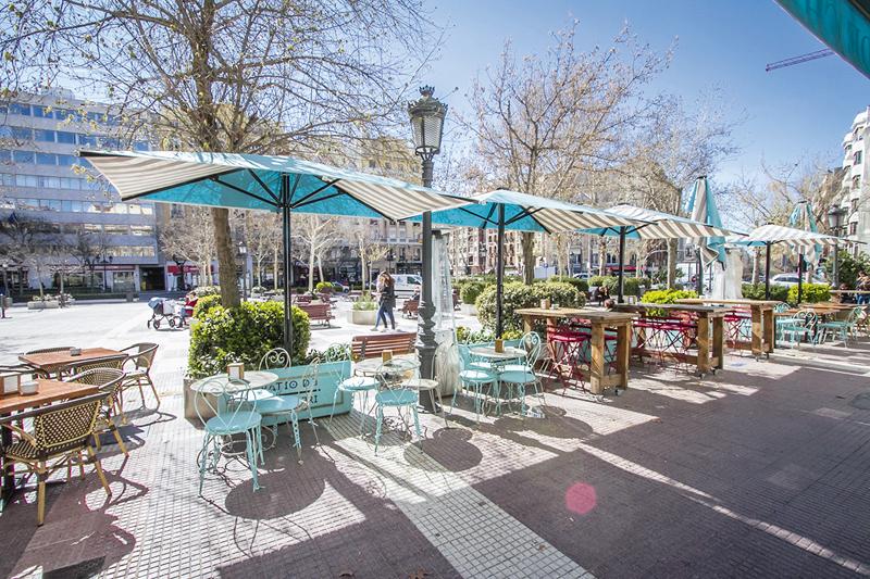 Terraza El Patio de Chamberí 1 mail - Restaurantes y terrazas de Madrid para este verano (1ª entrega)
