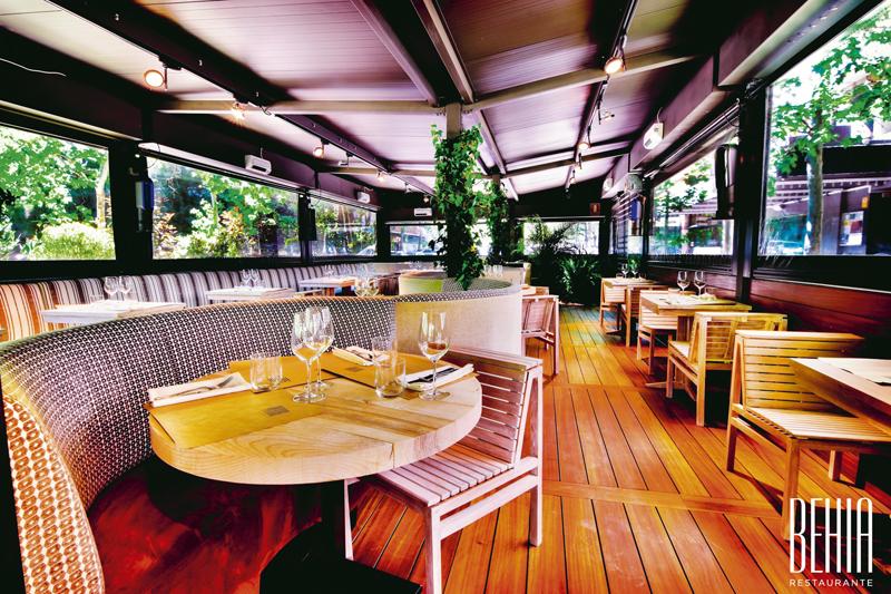 Terraza behia - Restaurantes y terrazas de Madrid para este verano (1ª entrega)