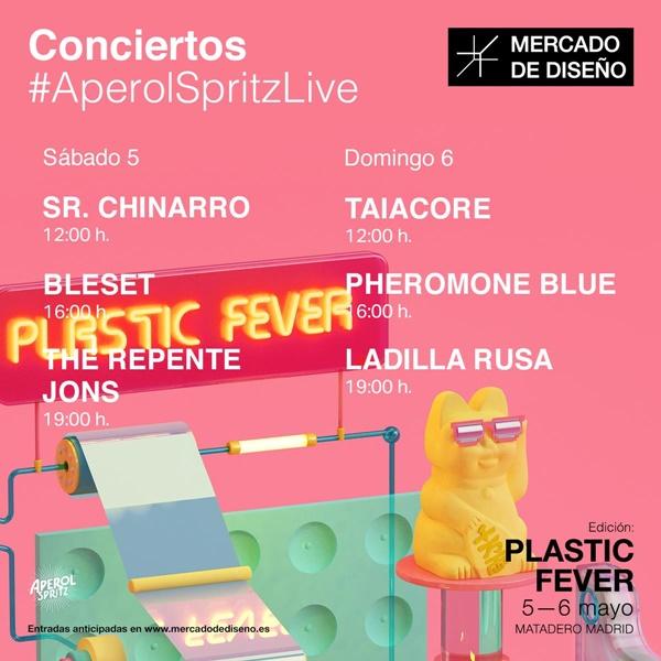 conciertos - Vuelve Mercado de Diseño con la edición Plastic Fever