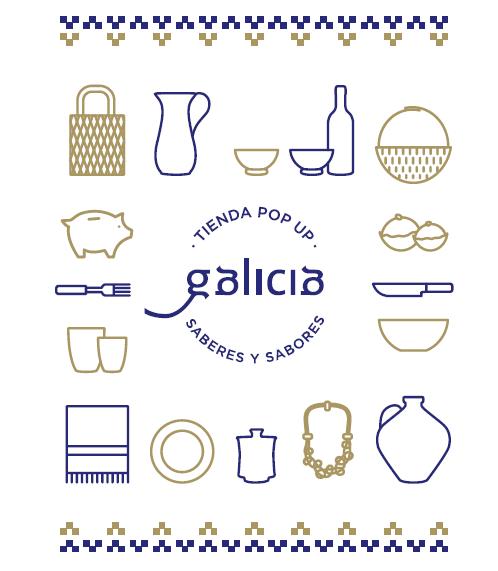 dentro galicia - Artesanía y gastronomía gallegas en el Palacio de Santa Bárbara