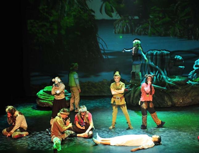 Peter Pan, el musical para toda la familia