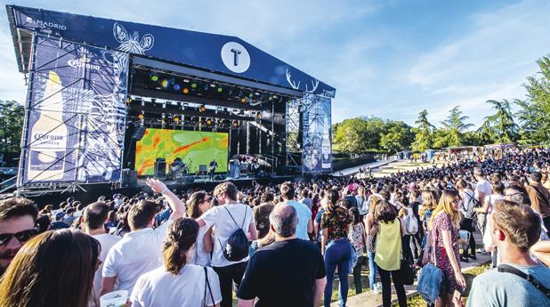 Cuarta edición del festival de música al aire libre Tomavistas