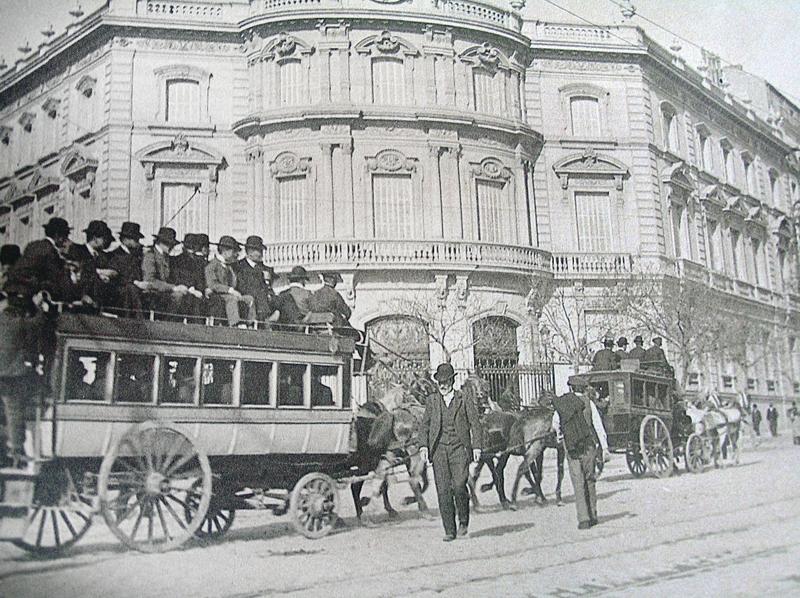 Tranvía al barrio de Salamanca. Madrid