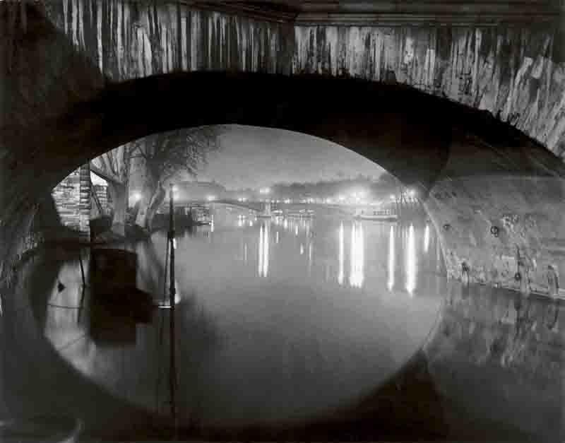 Vista desde el Pont Royal hacia el Pont Solférino. 1933.