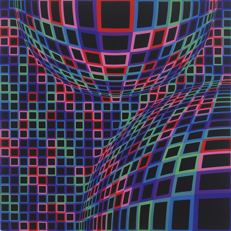 Bull GRND - Expo: Victor Vasarely o el nacimiento del Op Art