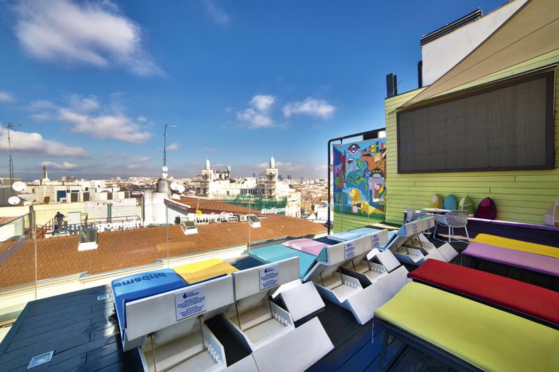Terraza del Hotel Indigo