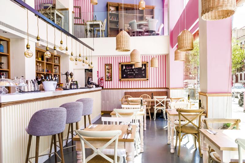 La Panera Rosa 33 - Terrazas y Restaurantes de Madrid (2ª entrega)