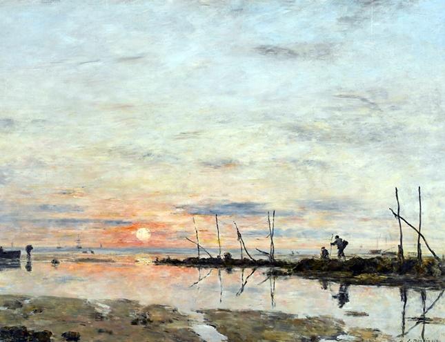 Monet y Boudin, alumno y maestro, se ven las caras en una preciosa exposición