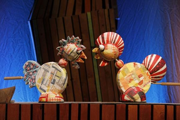 Kikiriguau dentro - El Teatro de Títeres de El Retiro no cierra por vacaciones