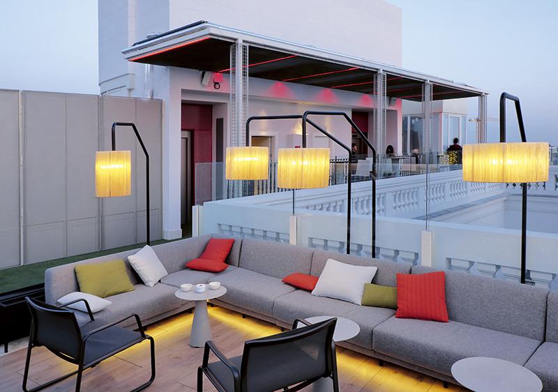 Picalagartos NH Collection Gran Vía 2 - 6 terrazas de Madrid para disfrutar más el verano