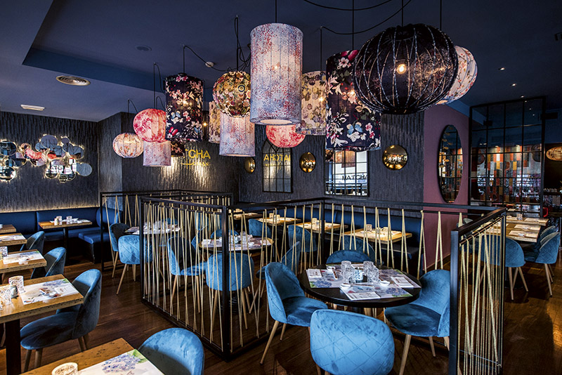 Sala general Matcha House - 4 restaurantes para un verano en Madrid