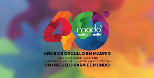 fiestas orgullo madrid 2018 - Programa Orgullo 2018