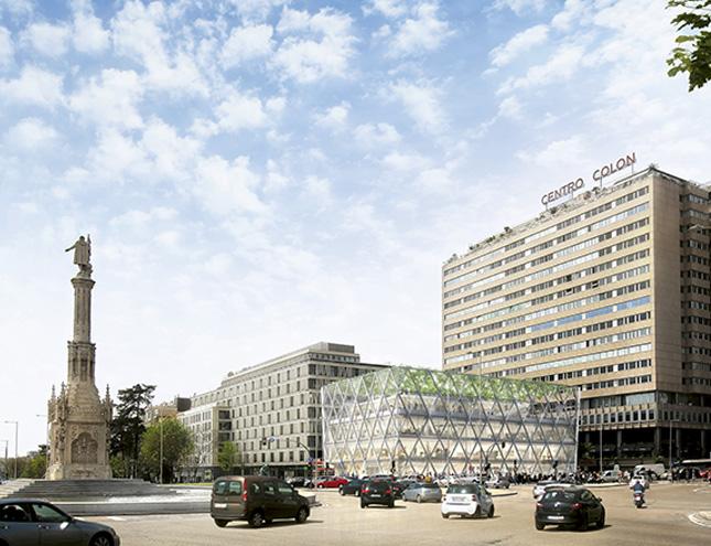 Un edificio sostenible de acero y cristal, nuevo proyecto de Foster para Madrid
