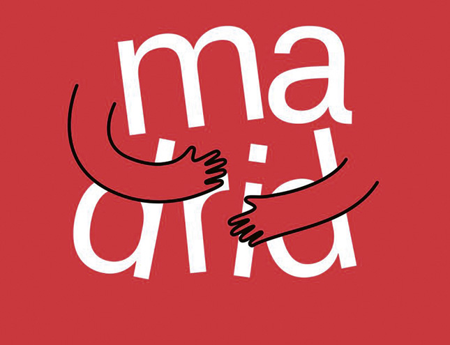 """""""Madrid te abraza"""", nuevo icono de la ciudad"""