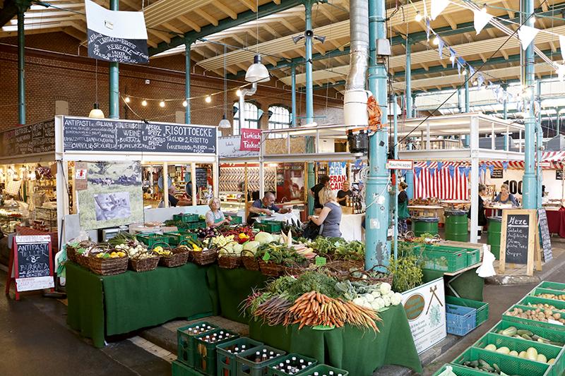Imagen del mercado Markthalle.