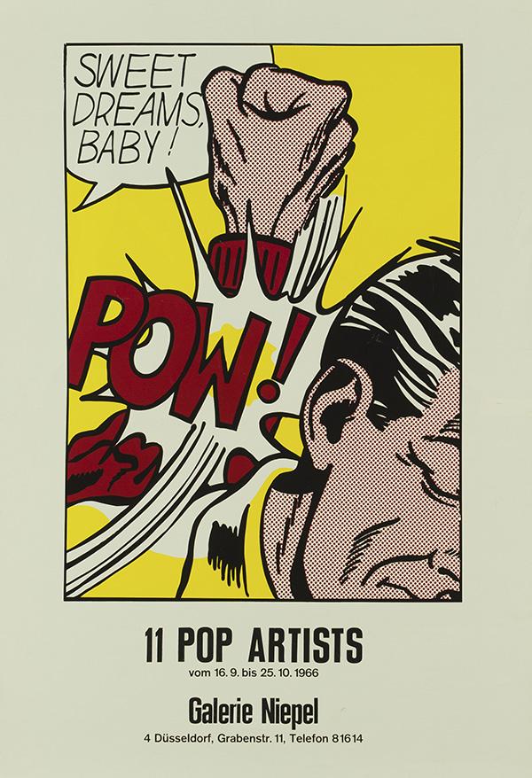 11 Pop Artists, 1966 © Estate of Roy Lichtenstein