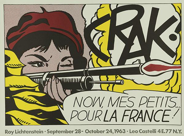 CRAK!, 1963 © Estate of Roy Lichtenstein