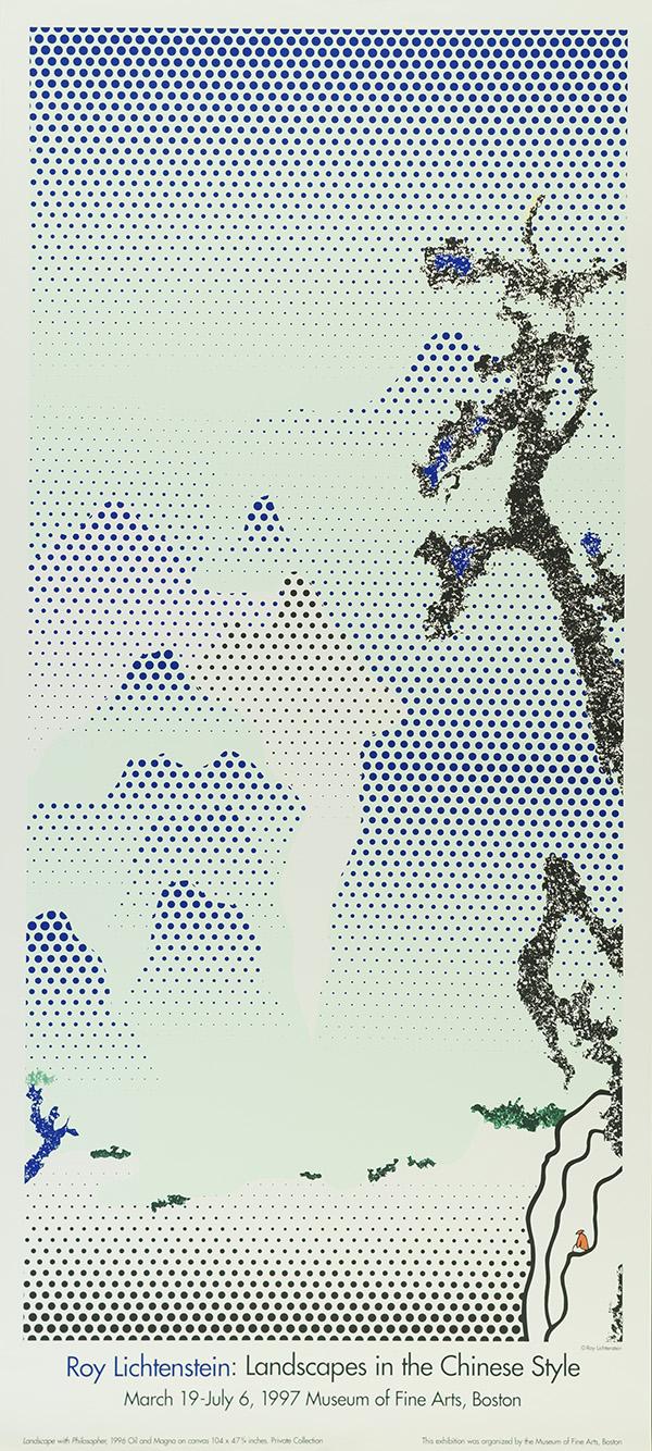 Landscapesin theChineseStyle, 1997 © Estate of Roy Lichtenstein