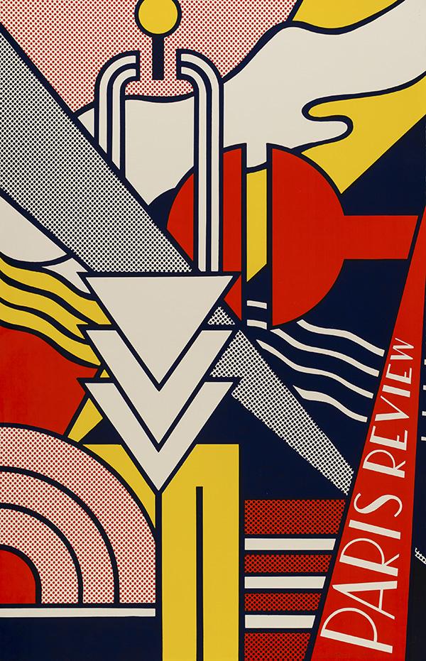 Paris Review, 1966 © Estate of Roy Lichtenstein