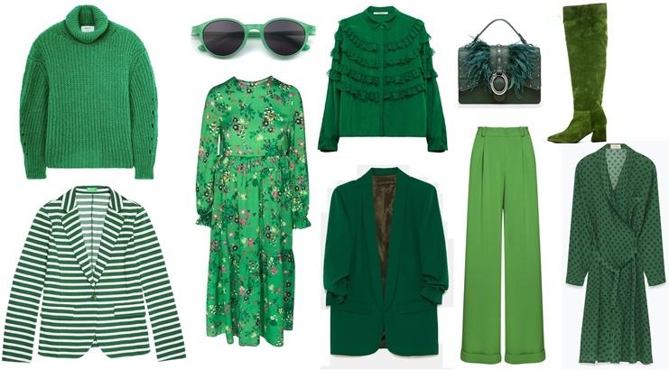 dentro - Alegra tu armario con el color verde