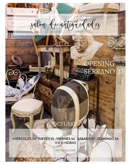 dentro2 - Antique&Chic, un espacio para las antigüedades, este finde en el Barrio de Salamanca