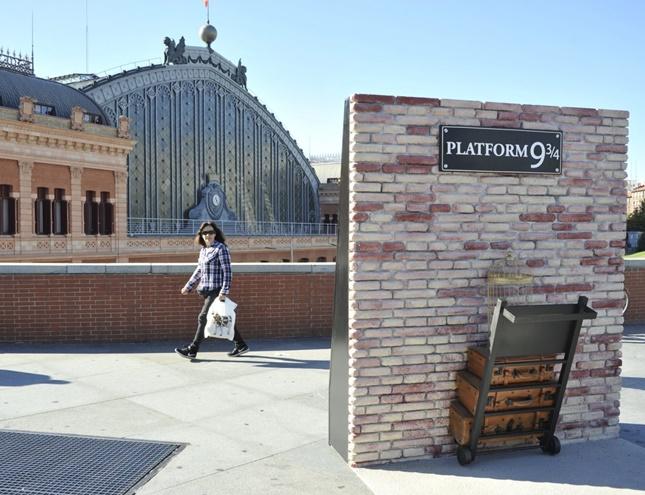 Rincones de Madrid se llenan de magia