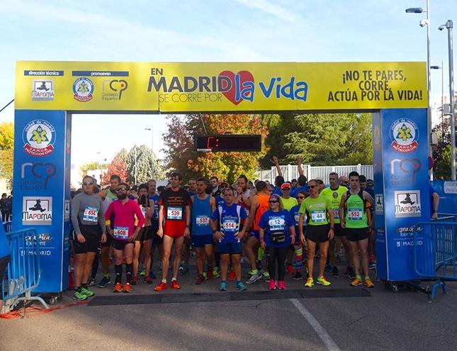 """Apúntate a la carrera """"En Madrid se corre por la vida"""""""