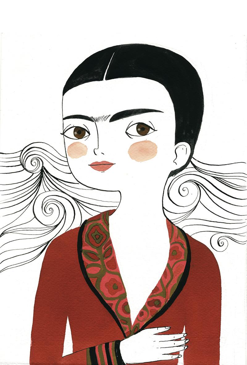 frida - EXPO: María Hesse, de mujeres e iconos