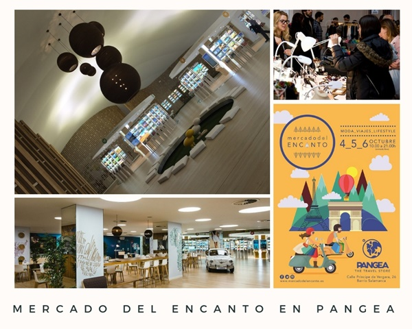 mercado del encantoen pangea2 - PopUp de moda, viajes y lifestyle en el barrio de Salamanca