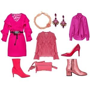 La vie en rose homenajea al color rosa en la moda