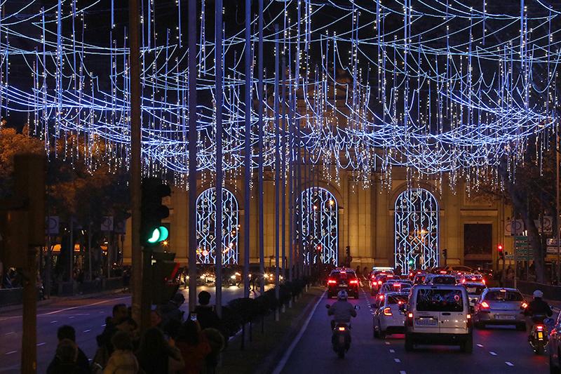 ilu nav mad - 8 millones de LEDs para encender la Navidad en Madrid